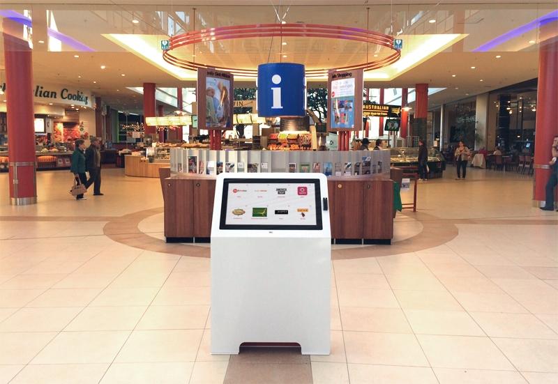 Location borne interactive 32 pouces centre commercial