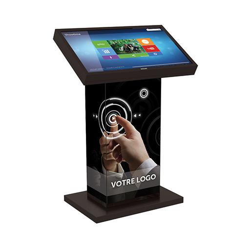 Location borne tactile 32 pouces Kiosk