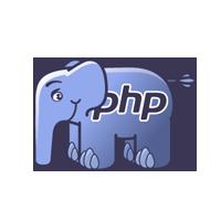 PHP logo développement tactile
